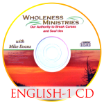 Our Authority to Break Curses and Soul-Ties – English – CD