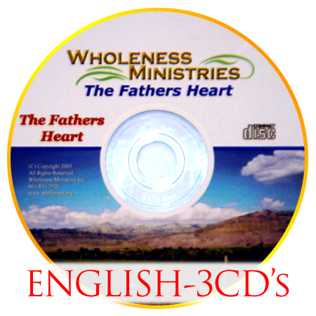 The Father's Heart – English – CD's