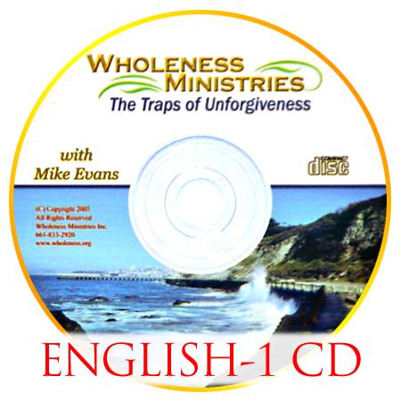 The Traps of Unforgiveness – English – CD